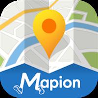 地図マピオン – 駅の出入り口やバス停までわかる高品質な地図