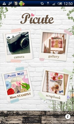 Picute -写真をおしゃれにかわいくデコれるカメラアプリ