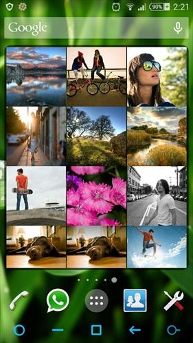 PhotoFrame&GridWidget