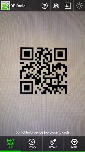 QRDroidCodeScanner(日本語)