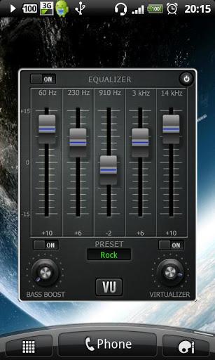 ミュージック音量、EQ