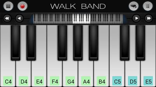 WalkBand–音楽スタジオ