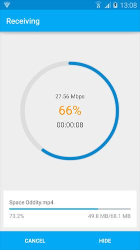 SuperBeam|WiFiDirectShare