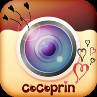 可愛くプリしてデコれる無料カメラアプリCoCoprin