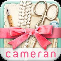 cameranコラージュ−可愛い写真を簡単切り抜き組み合わせ