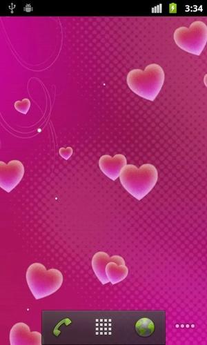 ハートライブ壁紙Hearts