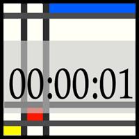 秒時計ウィジェット