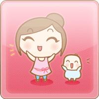 がんばれママちゃん!無料スタンプ集3
