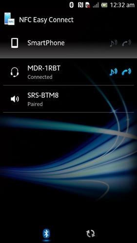 NFC簡単接続