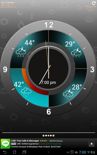 WeatherClock