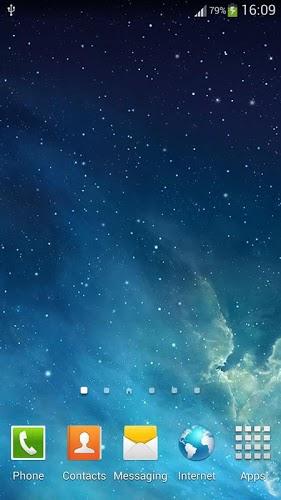 銀河Parallaxライブ壁紙
