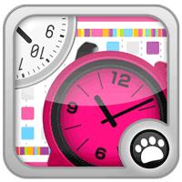 時計コレクション(無料で選べるデザイン、ウィジェット表示)