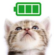 電池長持ち「待受に猫」かわいい電池節約アプリ無料