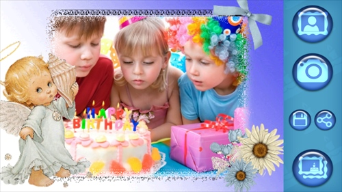 誕生日フォトフレーム