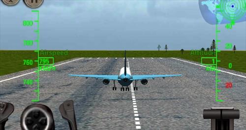 3Dの飛行機の飛行シミュレータ–FlightSim