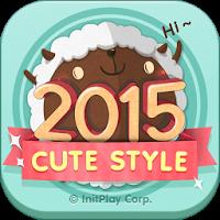 卓上カレンダー2015:キュートカレンダー 「ウィジェット」