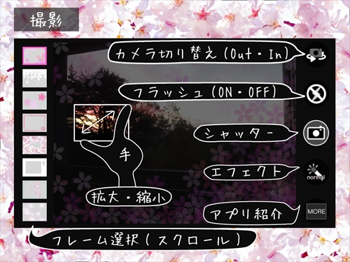 SakuraCamera桜カメラ