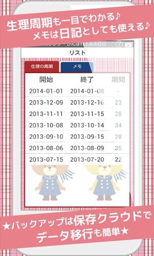 レディースカレンダーがんばれ!ルルロロFree
