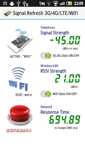電波復活3G/4G/LTE/WiFi無料