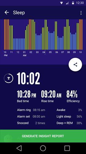 睡眠時間:睡眠サイクルスマートアラームクロック、監視分析