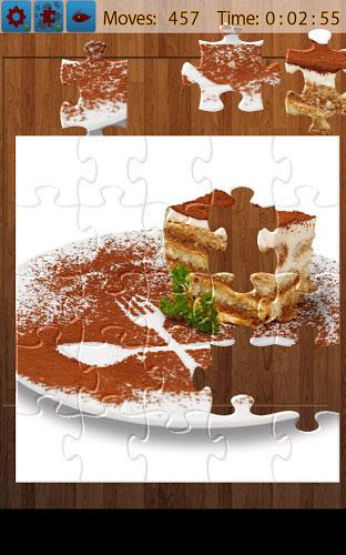 デザートジグソーパズル