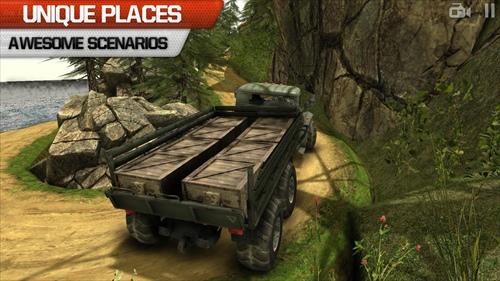 トラックの運転手3D:オフロード