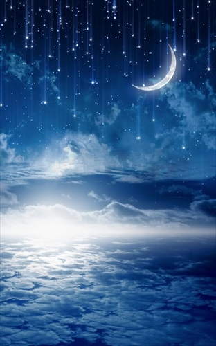 夜空ライブ壁紙