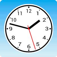 Simpleアナログ時計[秒針対応ウィジェット]