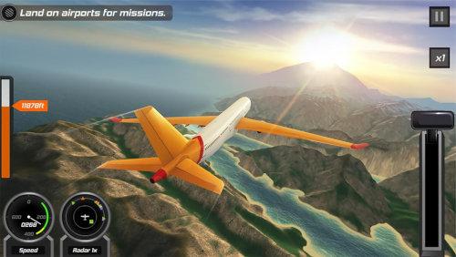 フライトパイロットシミュレーター3D無料