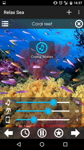 自然音–海を緩和
