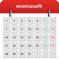 Moniusoftカレンダー