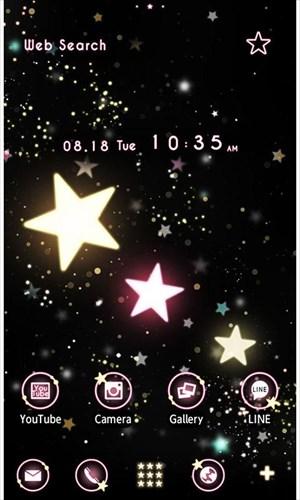 かわいい壁紙・アイコン-StarryHeavens-無料