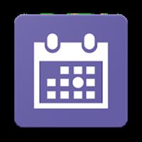 丸印カレンダー(ウィジェット対応)
