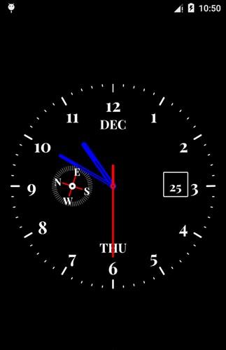 時計ライブ壁紙