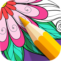 Color Therapy: Flower Patterns