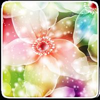 ネオン花は壁紙を生きます