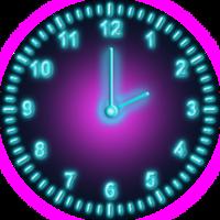 ネオン 時計
