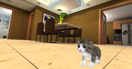 子猫猫シミュレータ3D