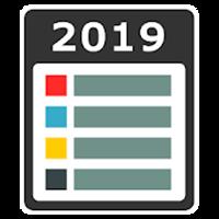 縦型カレンダー&簡単メモ