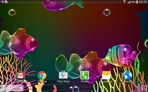 NeonFishLiveWallpaper