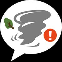 竜巻アラート – お天気ナビゲータ