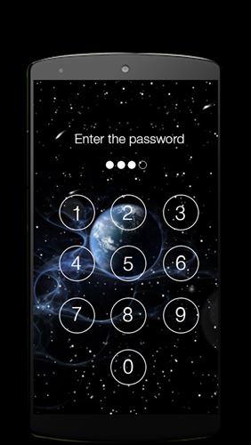 ロック画面のパスワード