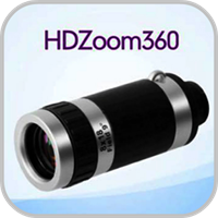 ズームHDカメラ(360)