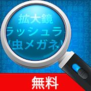 拡大鏡 + フラッシュライト (虫メガネ)