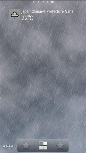 WeatherSkyライブ壁紙