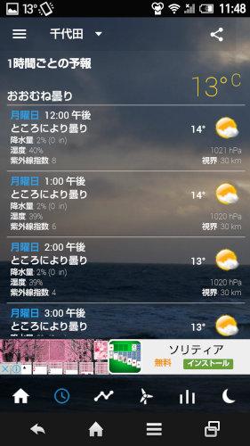 SenseFlipclock&weather