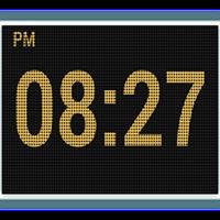 おしゃれLED卓上時計