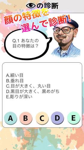 顔パーツ診断アプリ!顔のパーツを見ただけで性格が分かる!?
