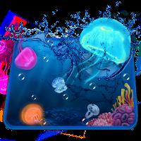 3D水族館クラゲのテーマ