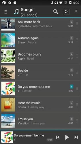 ジェットオーディオ–高音質の音楽プレーヤー
